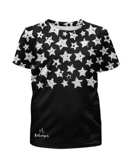 """Футболка с полной запечаткой для девочек """"Stars"""" - рисунок, print, графика, koleda17, футболкаспринтом"""