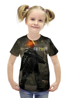 """Футболка с полной запечаткой для девочек """"Fallout"""" - games, игра, game, fallout, фаллоут"""