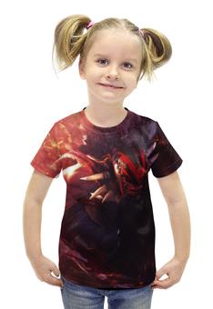 """Футболка с полной запечаткой для девочек """"T-Shirt Bloodseeker"""" - dota2, bloodseeker, t-shirt dota2"""