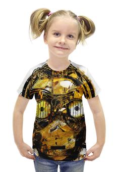 """Футболка с полной запечаткой для девочек """"C-3PO (Звездные Войны)"""" - голова, арт, star wars, робот, c-3po"""