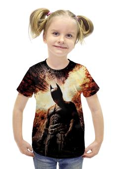 """Футболка с полной запечаткой для девочек """"Бэтмен"""" - комиксы, batman, супергерой, gotham"""