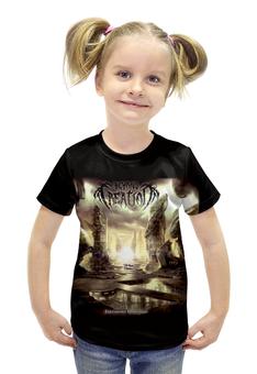 """Футболка с полной запечаткой для девочек """"Beyond Creation"""" - музыка, death metal, металл, progressive, technical death metal"""