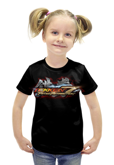"Футболка с полной запечаткой для девочек ""Tekken 7"" - games, tekken, tekken 7"