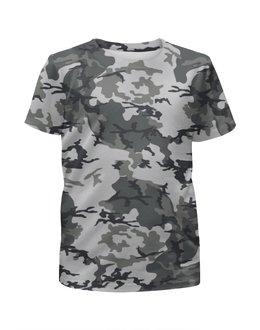 """Футболка с полной запечаткой для девочек """"Urban Style Сamouflage"""" - армия, камуфляж, urban, camo, urban style сamouflage"""