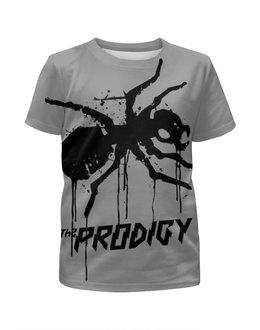 """Футболка с полной запечаткой для девочек """"The Prodigy"""" - prodigy, продиджи, муравей, the prodigy, термит"""