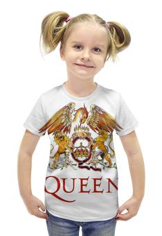 """Футболка с полной запечаткой для девочек """"Queen"""" - queen"""