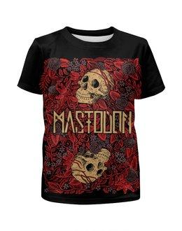 """Футболка с полной запечаткой для девочек """"Mastodon Band"""" - heavy metal, рок музыка, рок группа, тяжёлый рок, mastodon"""