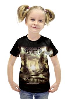 """Футболка с полной запечаткой для девочек """"Beyond Creation"""" - музыка, death metal, металл, technical death metal"""