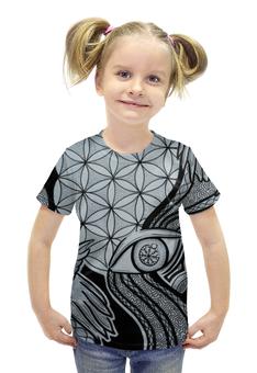 """Футболка с полной запечаткой для девочек """"Викинги. Мудрость Одина"""" - викинги, vikings, скандинавия, viking, пусть воина"""