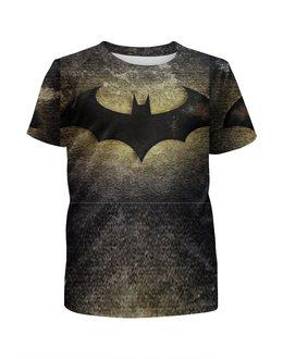 """Футболка с полной запечаткой для девочек """"BAtman"""" - batman, бэтмен, бэтман"""