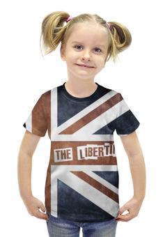 "Футболка с полной запечаткой для девочек ""The Libertines"" - рок, rock, uk, the libertines"