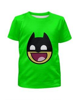 """Футболка с полной запечаткой для девочек """"бетмэн ( batman )"""" - комиксы, batman, dc, бетмэн"""