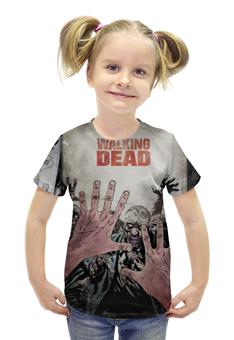 """Футболка с полной запечаткой для девочек """"Ходячие Мертвецы (The Walking Dead)"""" - ходячие мертвецы, the walking dead"""