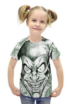 """Футболка с полной запечаткой для девочек """"Зеленый гоблин"""" - комиксы, spider-man, марвел, человек-паук, green goblin"""