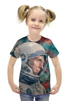 """Футболка с полной запечаткой для девочек """"Interstellar"""" - арт, космос, кино, интерстеллар, interstellar"""