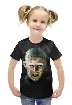"""Футболка с полной запечаткой для девочек """"Пинхед (Восставший из ада)"""" - pinhead, пинхед, восставший из ада"""