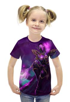 """Футболка с полной запечаткой для девочек """"WarCraft Collection"""" - wow, dota, warcraft, дота, варкрафт"""