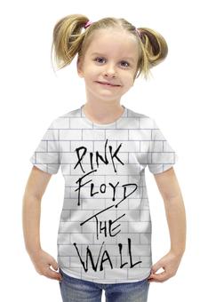 """Футболка с полной запечаткой для девочек """"Pink Floyd The Wall"""" - pink floyd"""