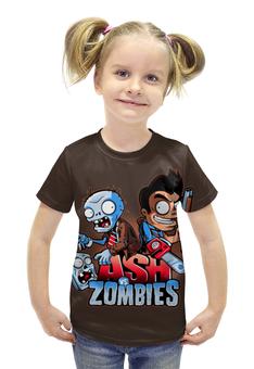 """Футболка с полной запечаткой для девочек """"Ash vs Zombies"""" - зомби, ужастик, эш"""