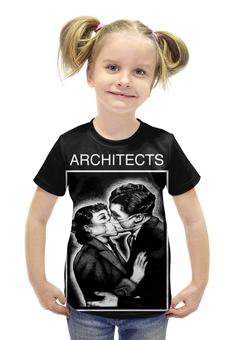 """Футболка с полной запечаткой для девочек """"architects"""" - architects"""