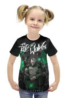 """Футболка с полной запечаткой для девочек """"To the Rats and Wolves"""" - metal, post-hardcore, to the rats and wolves"""