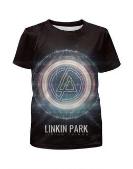 """Футболка с полной запечаткой для девочек """"Linkin Park"""" - рок, rock, linkin park, альтернатива"""