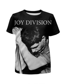 """Футболка с полной запечаткой для девочек """"Joy Division"""" - joy division, группы, ian curtis, пост-панк, иен кёртис"""