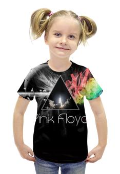 """Футболка с полной запечаткой для девочек """"Pink Floyd"""" - rock, pink floyd"""