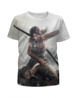"""Футболка с полной запечаткой для девочек """"Tomb Raider"""" - tomb raider"""