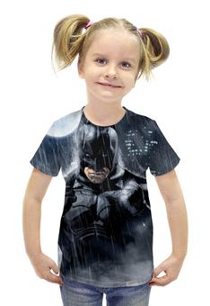 """Футболка с полной запечаткой для девочек """"Batman"""" - комиксы, batman, фильмы, бэтмен"""