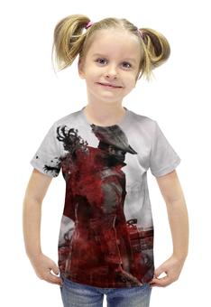 """Футболка с полной запечаткой для девочек """"bloodborne"""" - игры, bloodborne"""