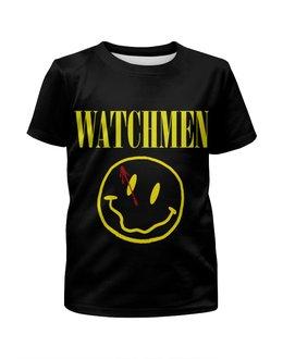 """Футболка с полной запечаткой для девочек """"Хранители (Watchmen)"""" - хранители, watchmen"""