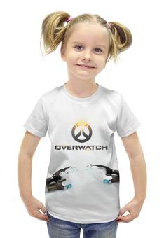 """Футболка с полной запечаткой для девочек """"Overwatch                            """" - blizzard, для геймера, overwatch, игры на пк"""