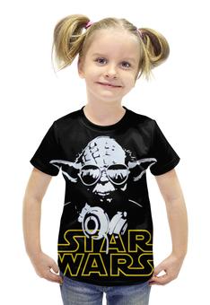 """Футболка с полной запечаткой для девочек """"Star Wars"""" - кино, star wars, звёздные войны, сага, saga"""
