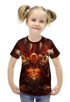 """Футболка с полной запечаткой для девочек """"WarCraft Collection: ork"""" - warcraft, орк, орда, варкрафт"""