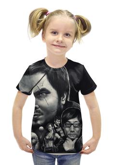 """Футболка с полной запечаткой для девочек """"Metal Gear Solid"""" - metal gear"""
