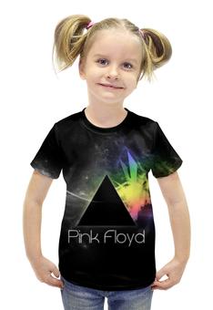 """Футболка с полной запечаткой для девочек """"Pink Floyd , пинк флойд , музыка"""" - музыка, пинк флойд, pink floyd"""