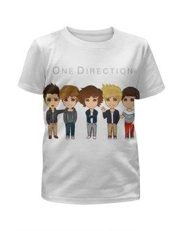 """Футболка с полной запечаткой для девочек """"One Direction"""" - one direction"""