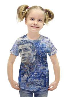 """Футболка с полной запечаткой для девочек """"Криштиану Роналду"""" - футбол, арт, криштиану роналду"""