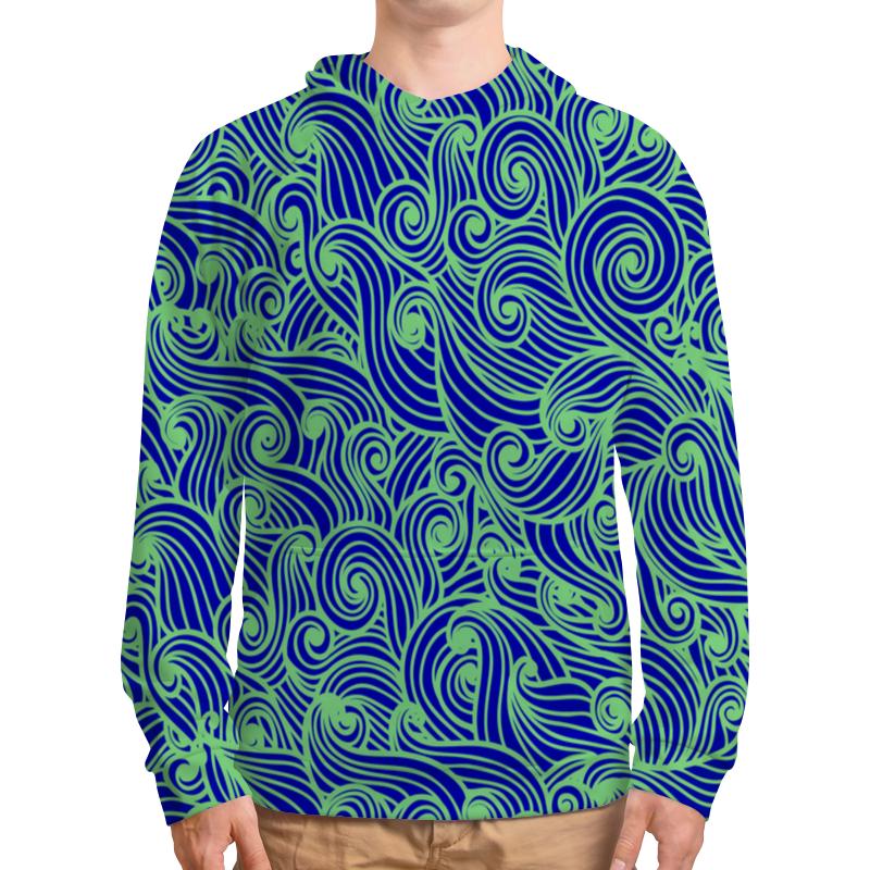 Printio Морская волна футболка с полной запечаткой мужская printio морская волна