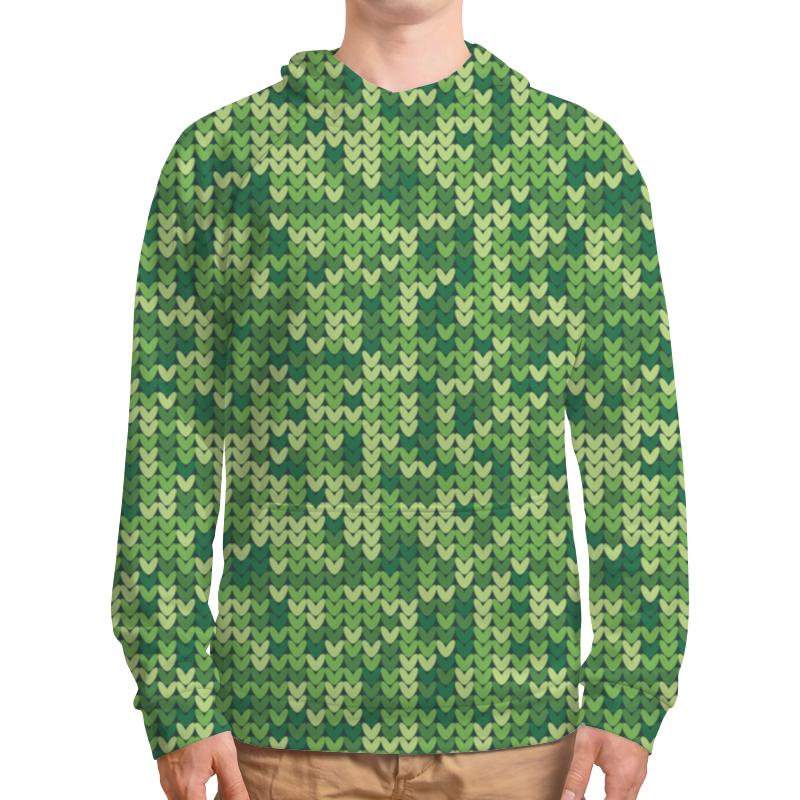Printio Зеленый вязаный узор рюкзак с полной запечаткой printio вязаный узор
