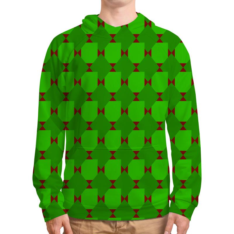 Фото - Толстовка с полной запечаткой Printio Зеленые ромбы толстовка с полной запечаткой printio зеленые ромбы