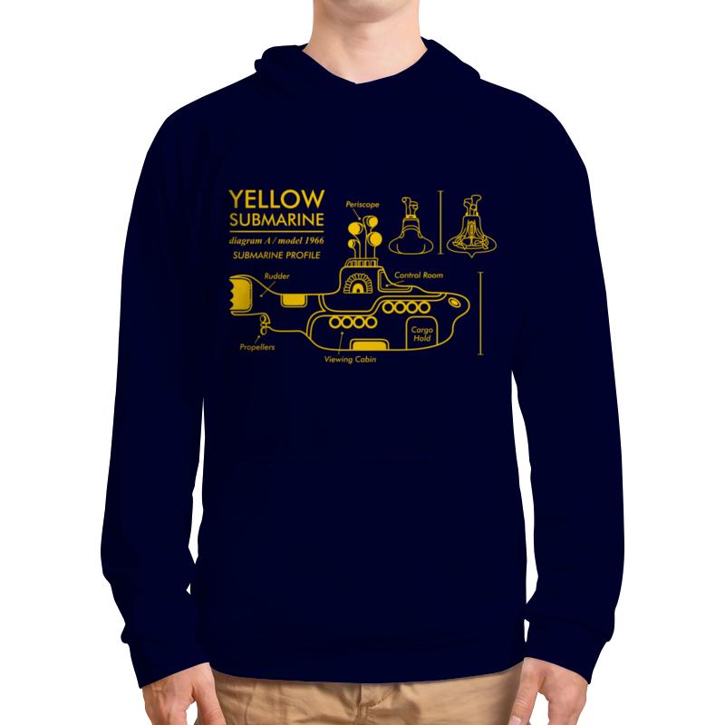 Толстовка с полной запечаткой Printio Yellow submarine цена и фото