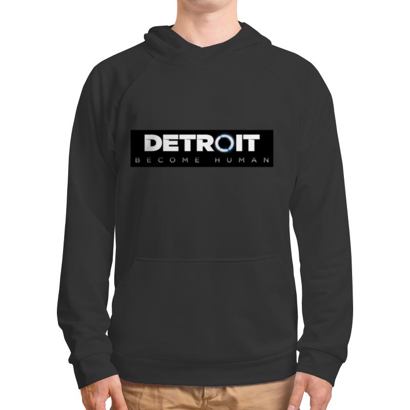 Printio Detroit become human толстовка с полной запечаткой printio detroit