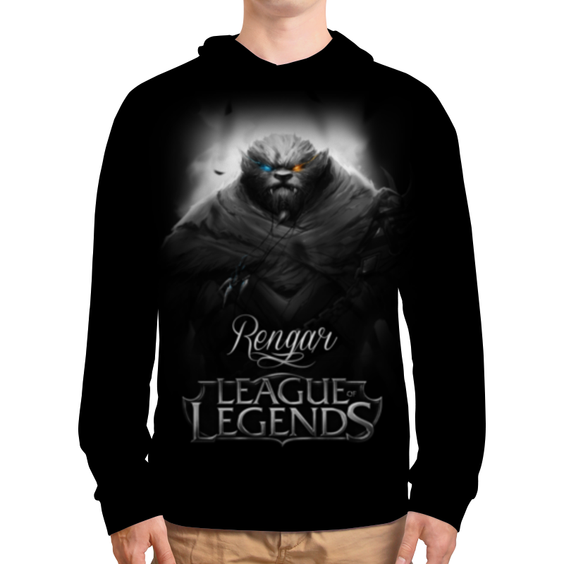 Толстовка с полной запечаткой Printio League of legends. ренгар свитшот мужской с полной запечаткой printio league of legends