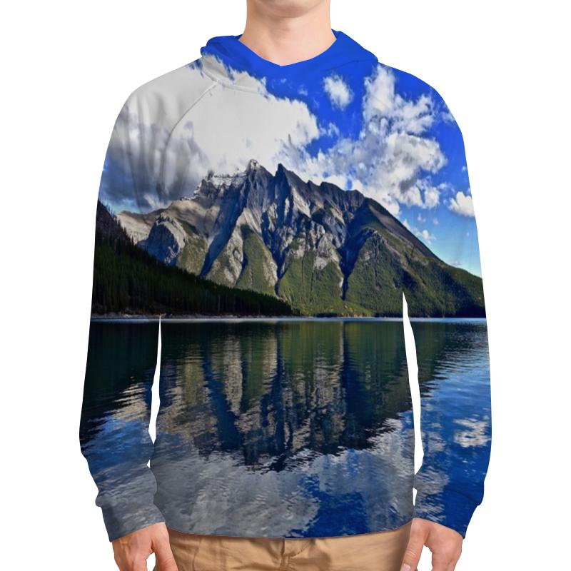 Толстовка с полной запечаткой Printio Горы у берега никита павлов картина у берега