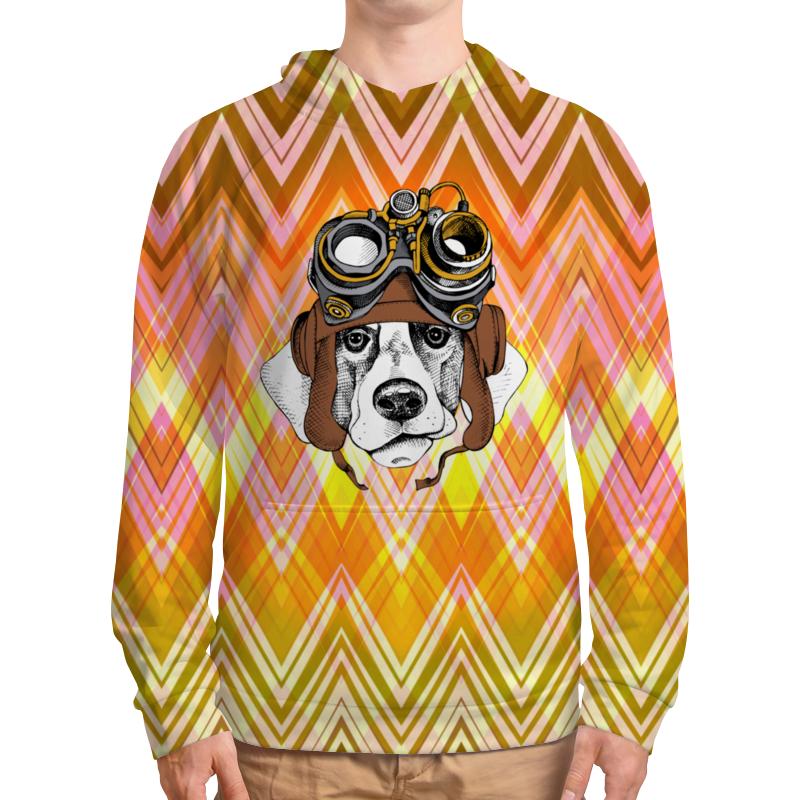 Толстовка с полной запечаткой Printio Пес летчик футболка с полной запечаткой женская printio пес летчик