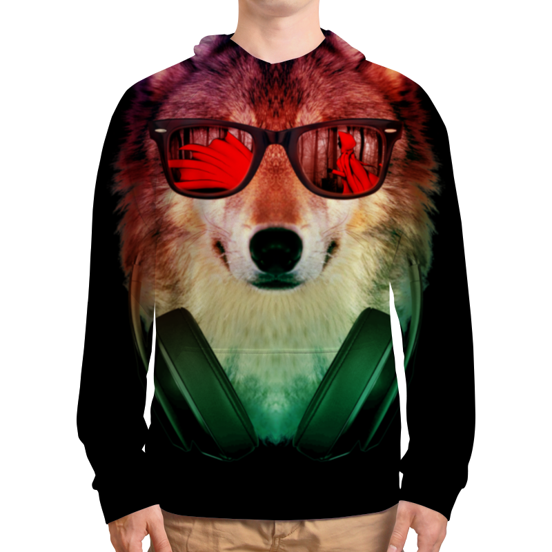 лучшая цена Printio Волк в очках