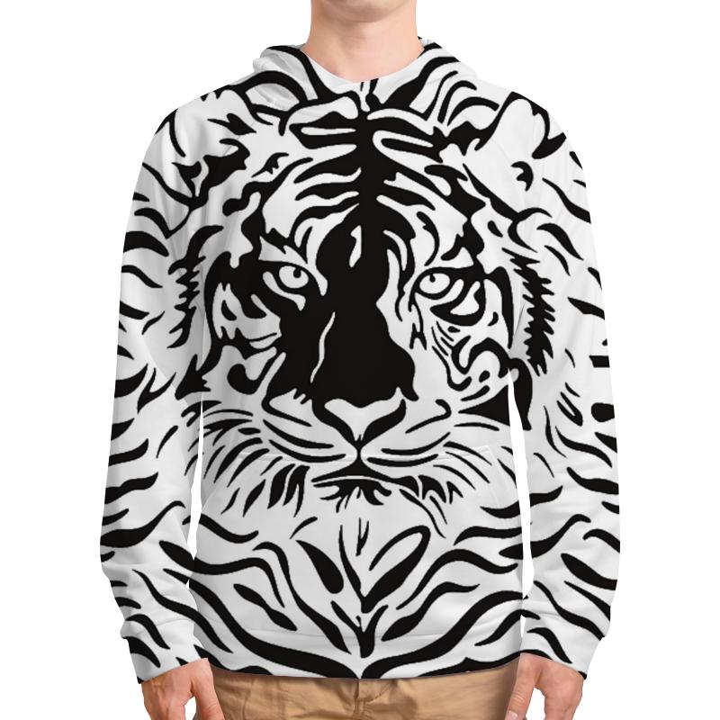 Толстовка с полной запечаткой Printio Взгляд тигра хоук к в поисках тигра