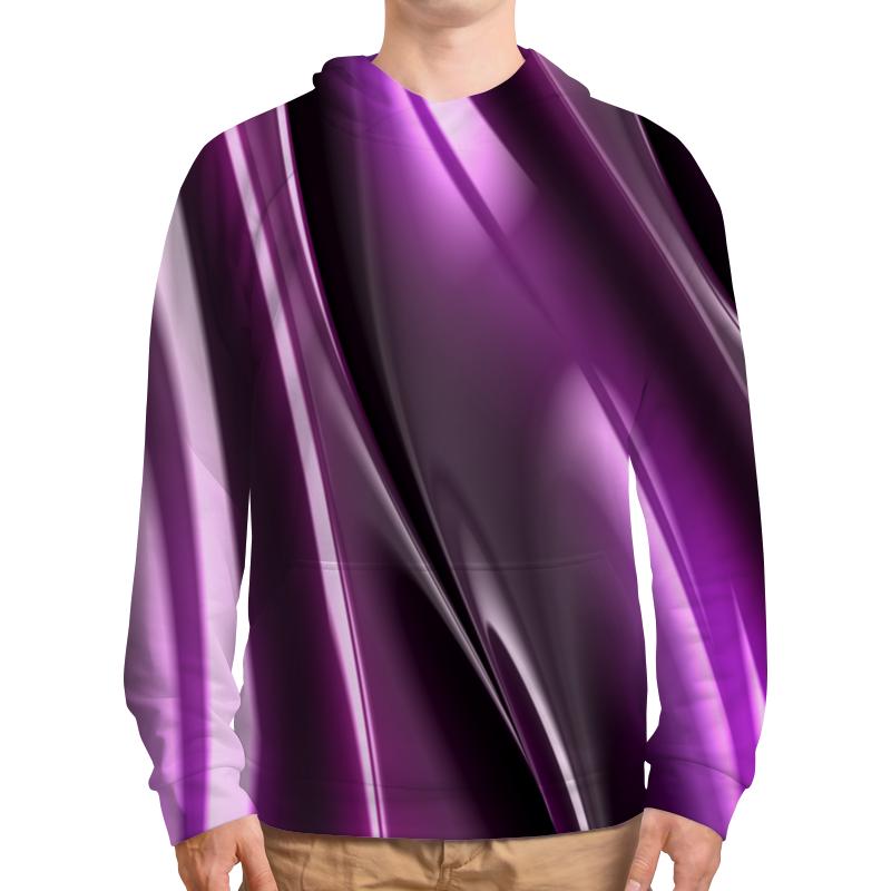 Толстовка с полной запечаткой Printio Фиолетовые линии футболка с полной запечаткой женская printio фиолетовые линии